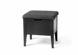 Klinte bench with lid