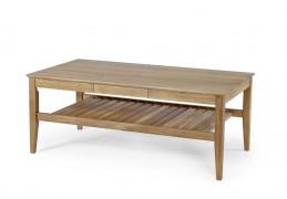 Ekliden galdiņš ar plauktu 130x70